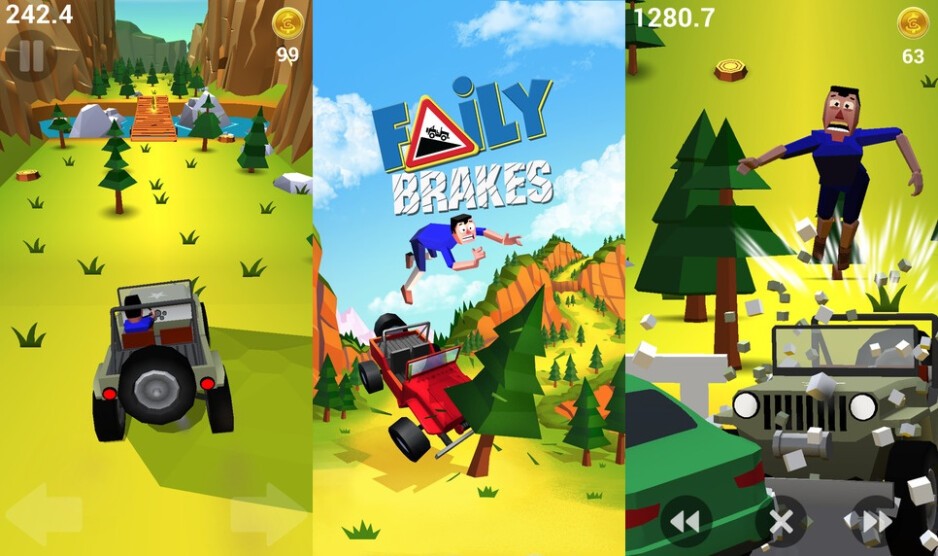 Faily Brakes - Best new Android and iPhone games of February 2016