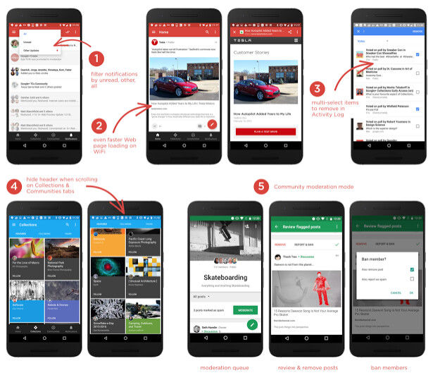 The latest update to Google+ for Android adds several new features - Google+ update adds new features, kills bugs