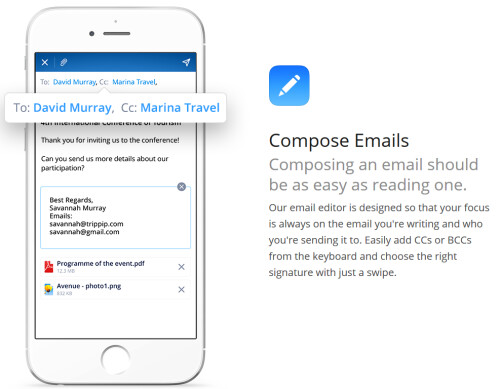 Email app Spark for iOS is now optimized for the Apple iPad