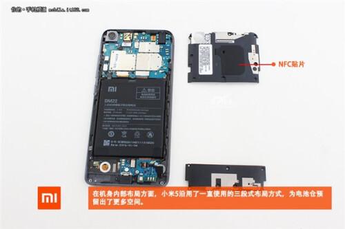 Xiaomi Mi 5 teardown