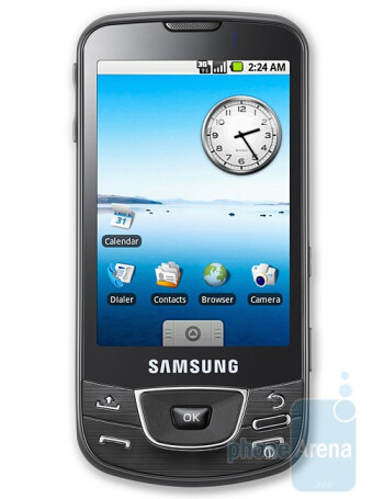 Samsung Galaxy is the new name of the i7500