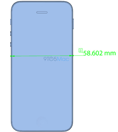 iPhone 5se leaked renders