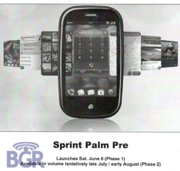 Best Buy to launch Palm Pre in 2 phases