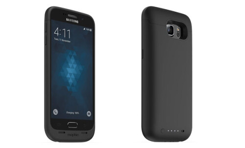 Mophie's juice packs for the Galaxy S7 and S7 edge come with wireless charging support