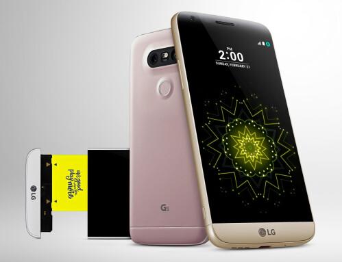 LG G5's modular design