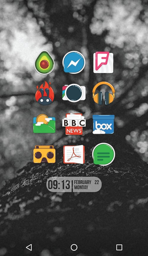Zarf icon pack