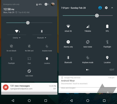 Early look at Android N notifications