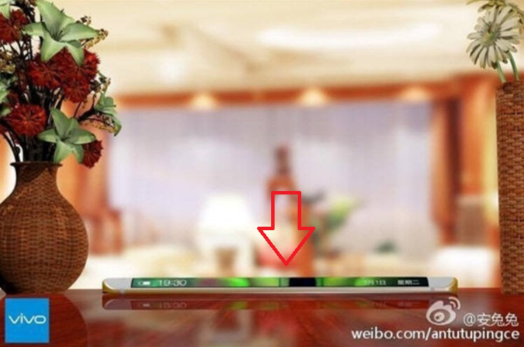 Vivo Xplay 5 features a familiar looking curved edge screen