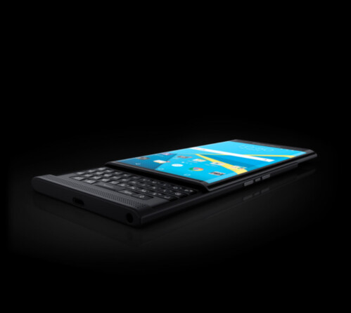 The BlackBerry Priv also is said to carry one of Sammy'y edge screens