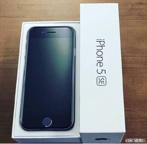 iPhone 5se in retail packaging