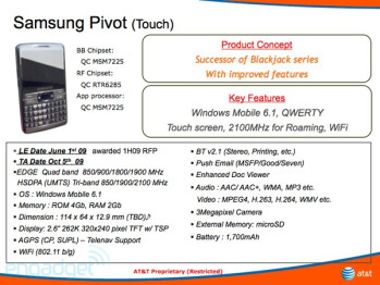 The Pivot combines a QWERTY keyboardand a touchscreen