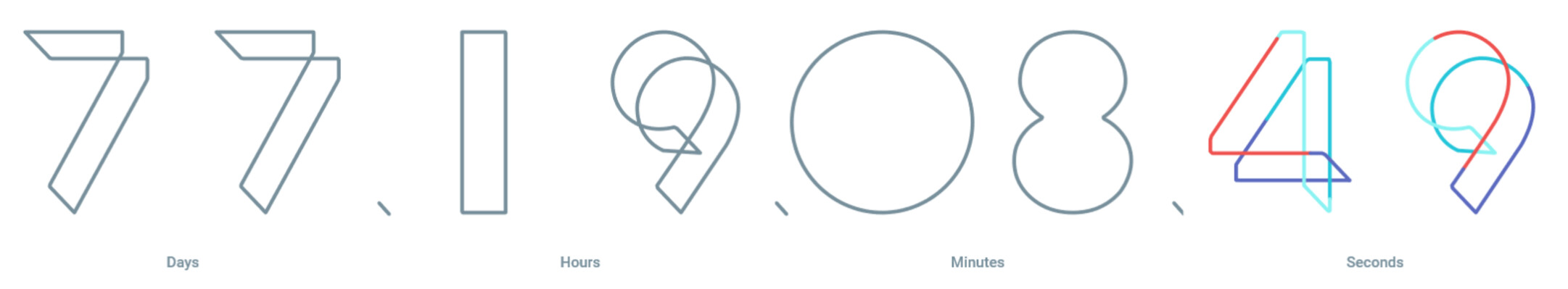 Google I/O website counts down the time until the May 18th start of this year's conference