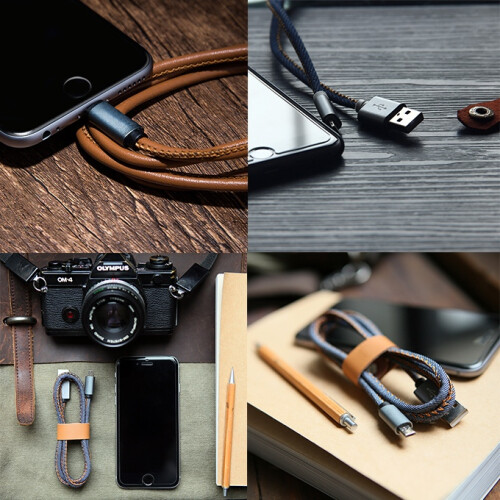 LMcable is the world's first cable that can charge both iOS and Android devices