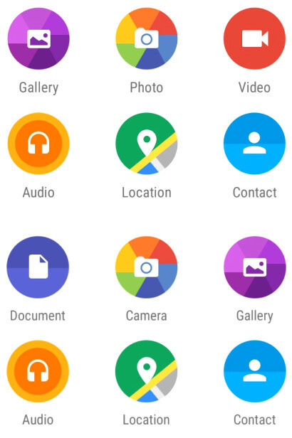 WhatsApp beta for Android finally intros document exchange and link copying