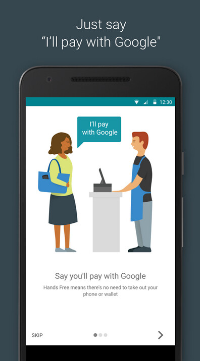 Google's Hands Free mobile payment service is now being tested