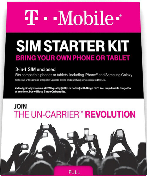 T-Mobile raises list price of its TrioSIM cards to $20 before coupon code