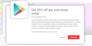 Deal: movie rentals now at 50  off on Google Play, Linkin Park's debut album is free