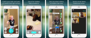 Spotlight: Motion Sensor for iOS shoots video when it detects movement
