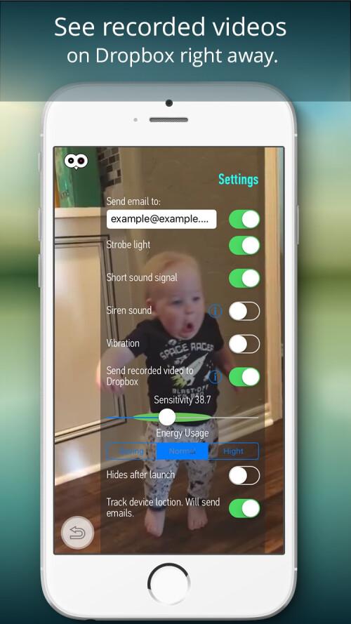 Motion Sensor screenshots