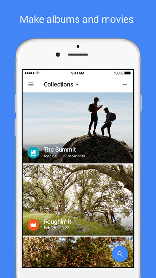 Google Photos for iOS now supports Live photos and Split View