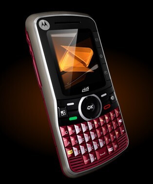 The Motorola Clutch i465 is the first full QWERTY iDEN phone