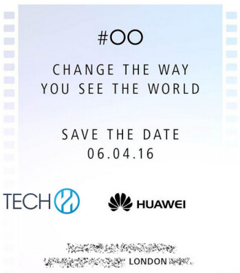 Huawei sends out invitations for a media event to take place April 6th