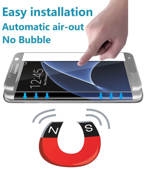 G-Color 0.2mm 3D Tempered Glass Screen Protector for Samsung Galaxy S7 Edge ($39.99)