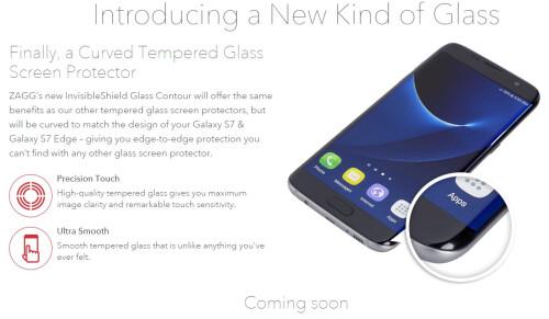 Zagg Glass Contour Galaxy S7 Edge Screen Protector($40)