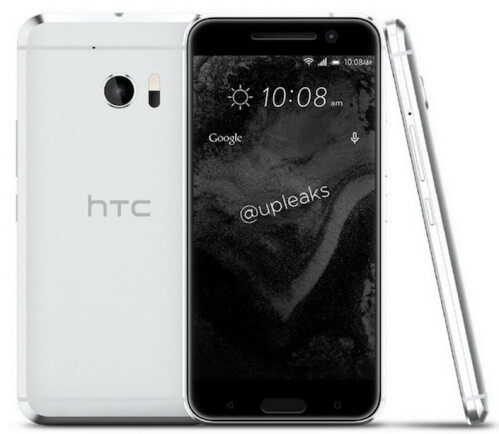 HTC M10 renders in four colors