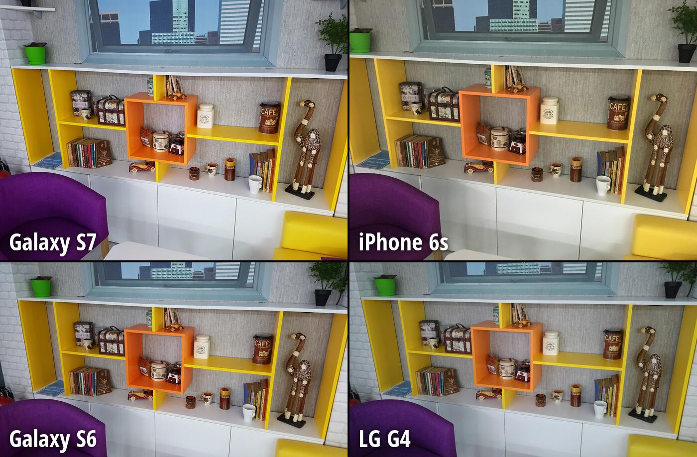 camera iphone 6s vs samsung s7