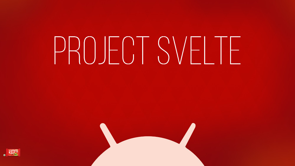 Project Svelte and background optimizations