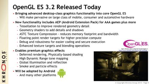 OpenGL ES 3.2
