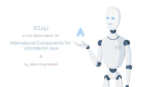 ICU4J API