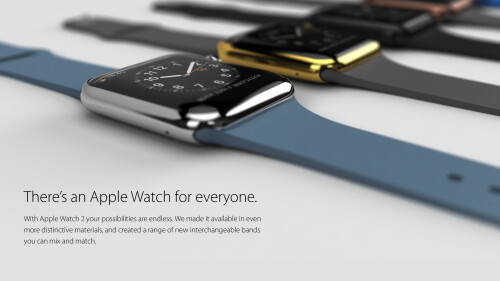 Apple Watch 2 concept renders by Eric Huismann