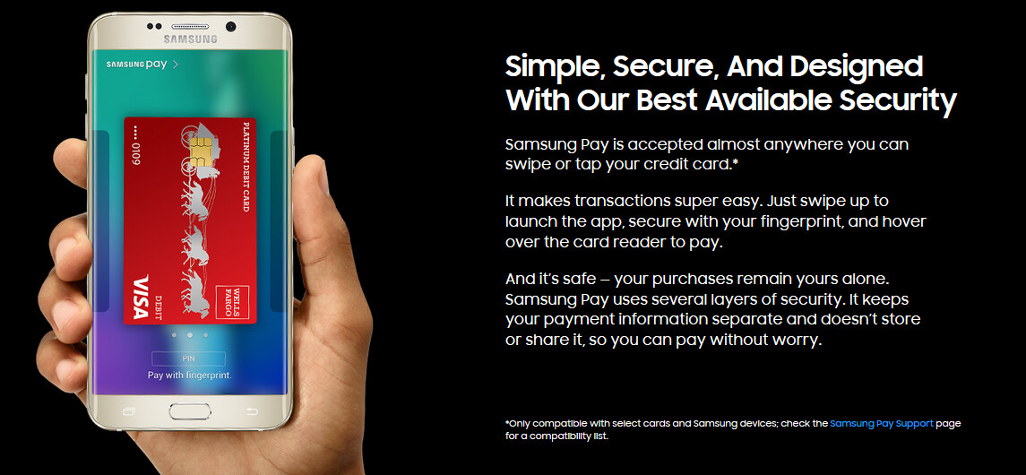 Use Samsung Pay on your Galaxy S7 or Galaxy S7 edge and earn a $30 ...