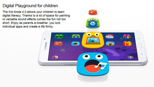 Kids Mode is included