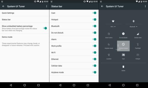 Enable the hidden UI Tuner