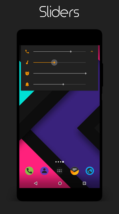 Colors Dark CyanogenMod Theme