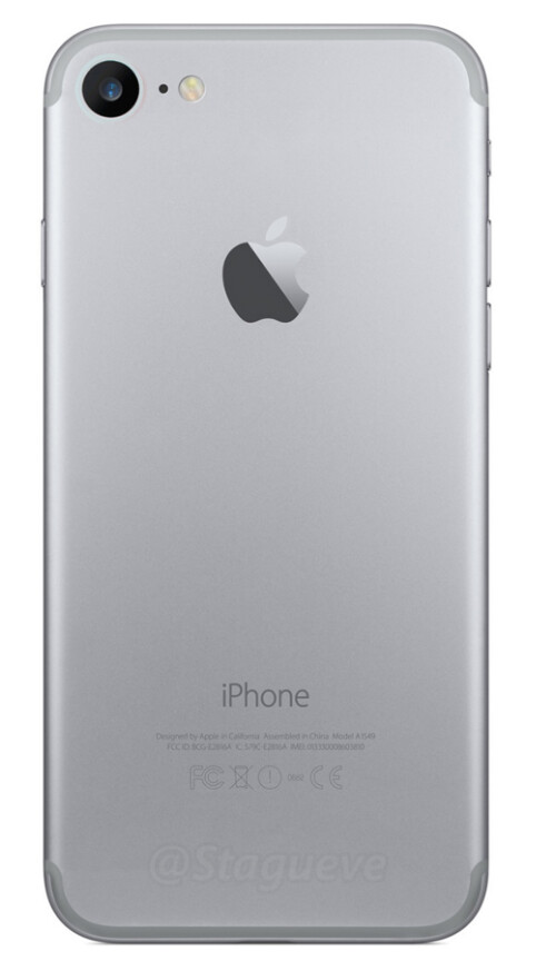 Artist's conception of the back of the iPhone 7