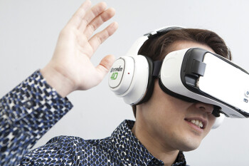 Moonshots: Samsung outs a '4D' VR headset, shower singing app, and the Waffle social platform