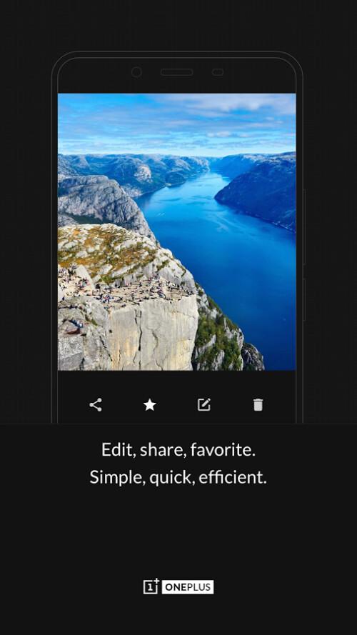 OnePlus Gallery
