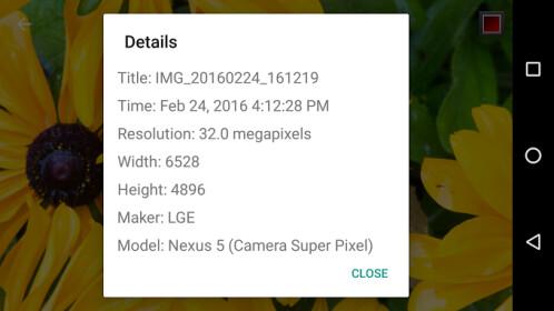 Camera Super Pixel