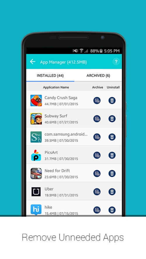 Systweak Android Cleaner screenshots