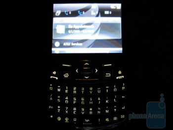 The Samsung Jack i637 runs on Windows Mobile 6.1 Standard