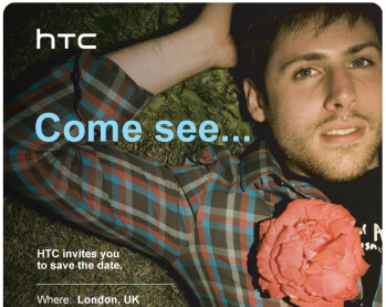 We wonder what is HTC going to announce...