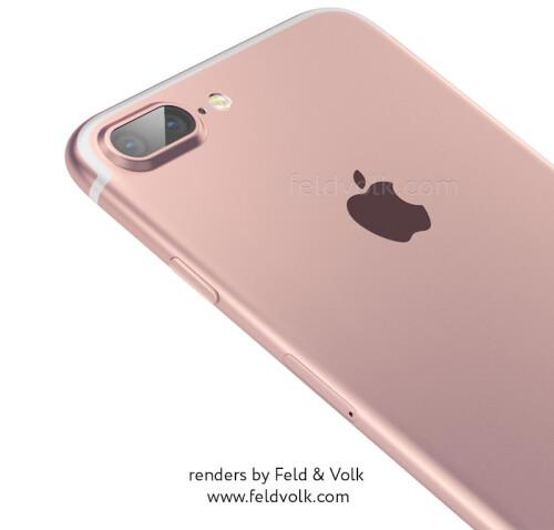 iPhone 7 Plus rumor-based renders