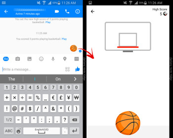Facebook adds another game to Messenger: challenge your buddies to shoot some hoops