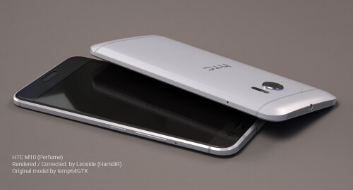 Unofficial renders of the HTC 10 (One M10)