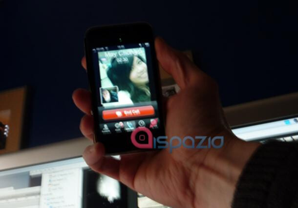 New iPhone to offer video chat?