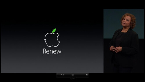 Apple closing in on an excellent environmental track record, introduces Apple Renew program